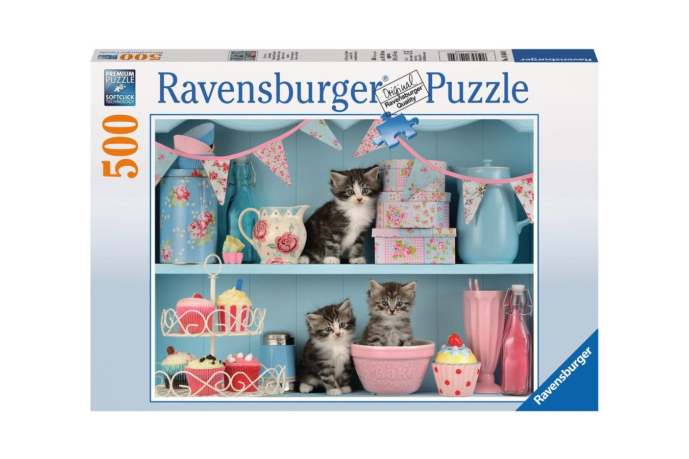 Puzzle Ravensburger - Pisicute Si Prajiturele, 500 Piese