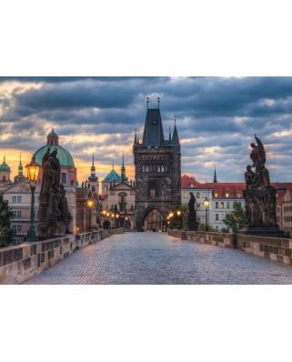 Puzzle Ravensburger - Praga, 1000 Piese