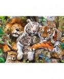 Puzzle Ravensburger - Tigri, 200 Piese