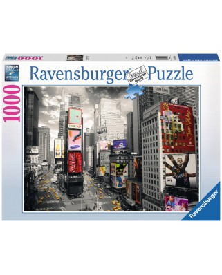Puzzle Ravensburger - Times Square, 1000 Piese