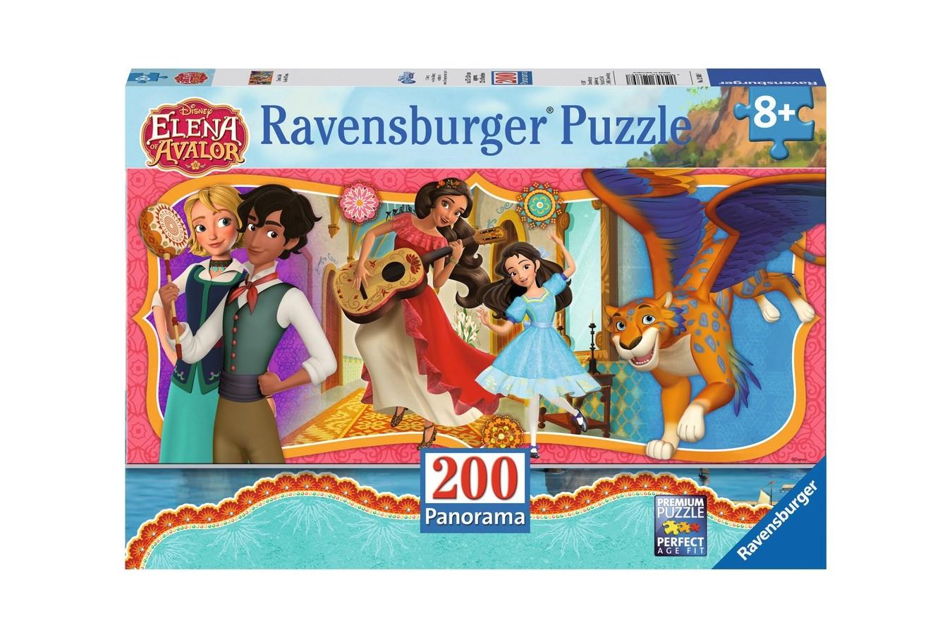 Puzzle Ravensburger - Viata Elenei Din Avalor, 200 Piese