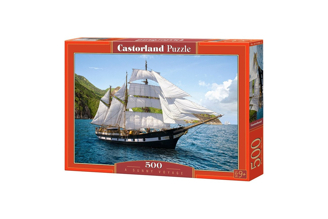 Puzzle Castorland - A Sunny Voyage, 500 piese