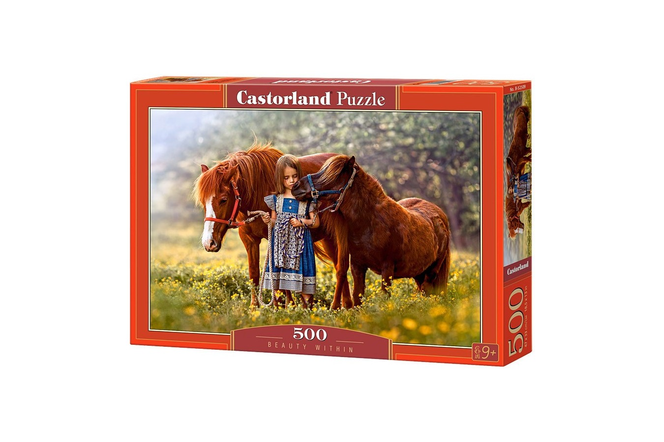 Puzzle Castorland - Beauty Within, 500 piese