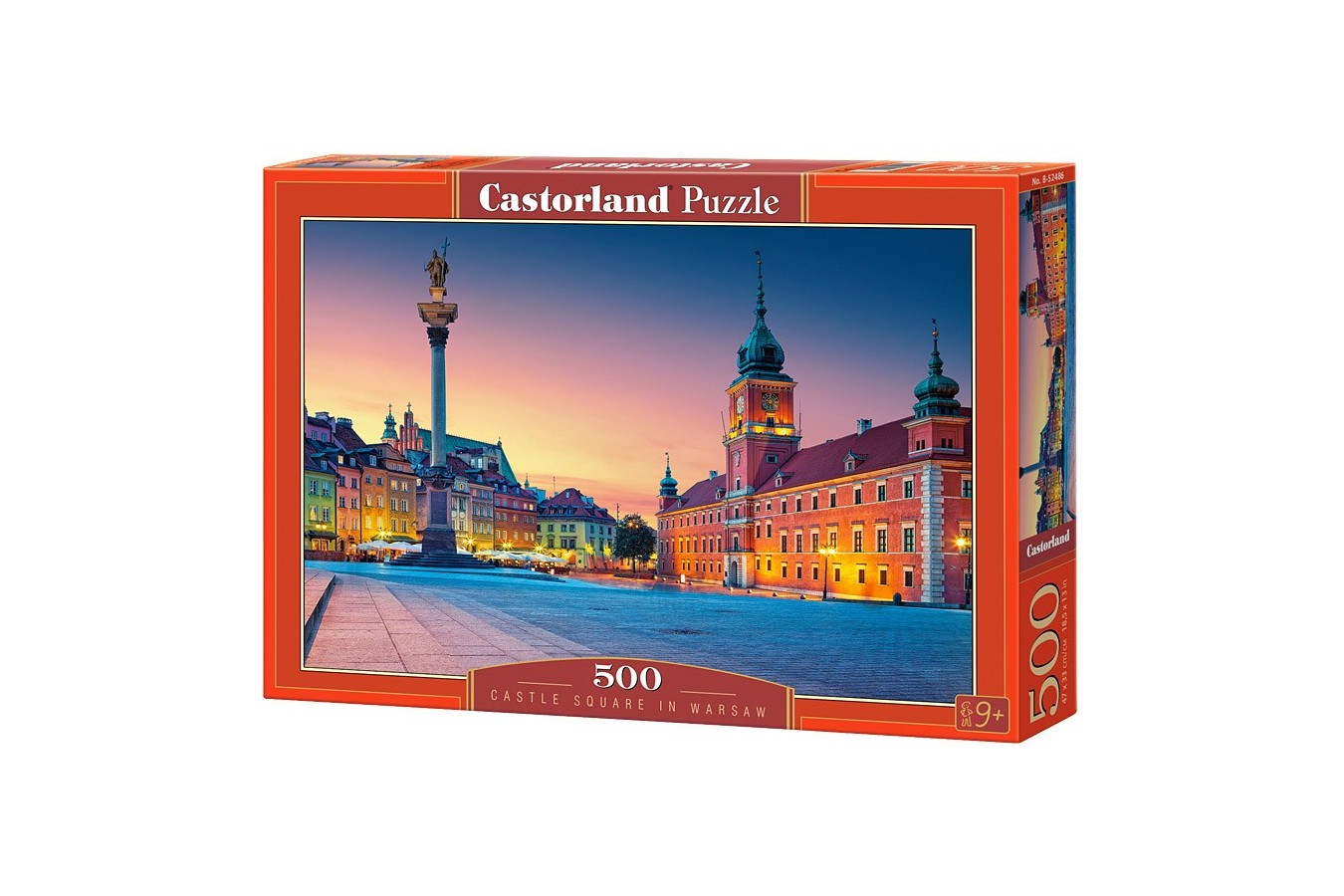 Puzzle Castorland - Castle Square in Warsaw, 500 piese