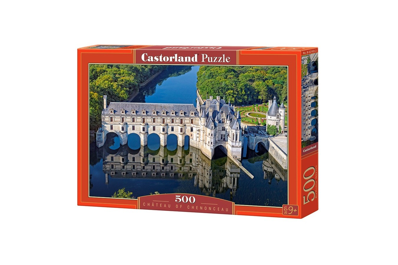 Puzzle Castorland - Chateau of Chenonceau, 500 piese