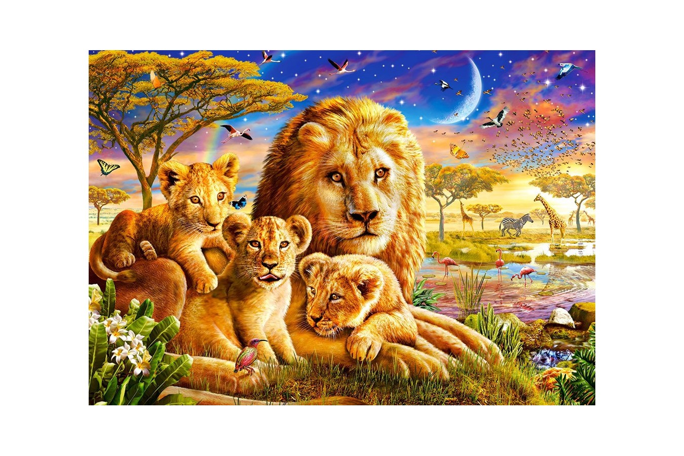 Puzzle Castorland - Dawn Pride, 500 piese