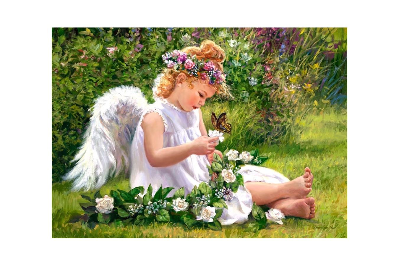Puzzle Castorland - Garden Angel, 500 piese