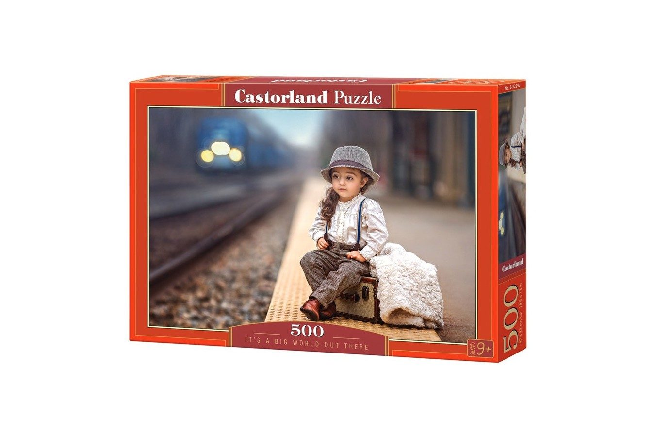 Puzzle Castorland - It's a big world out there, 500 piese