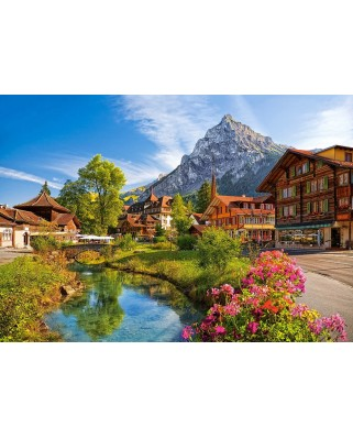 Puzzle Castorland - Kandersteg Switzerland, 500 piese