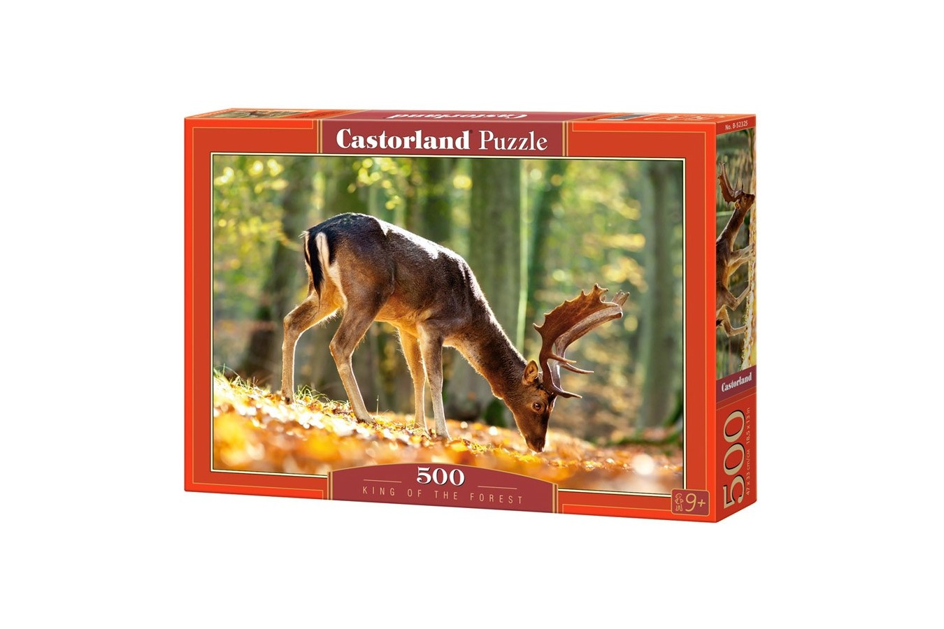 Puzzle Castorland - King of the Forest, 500 piese