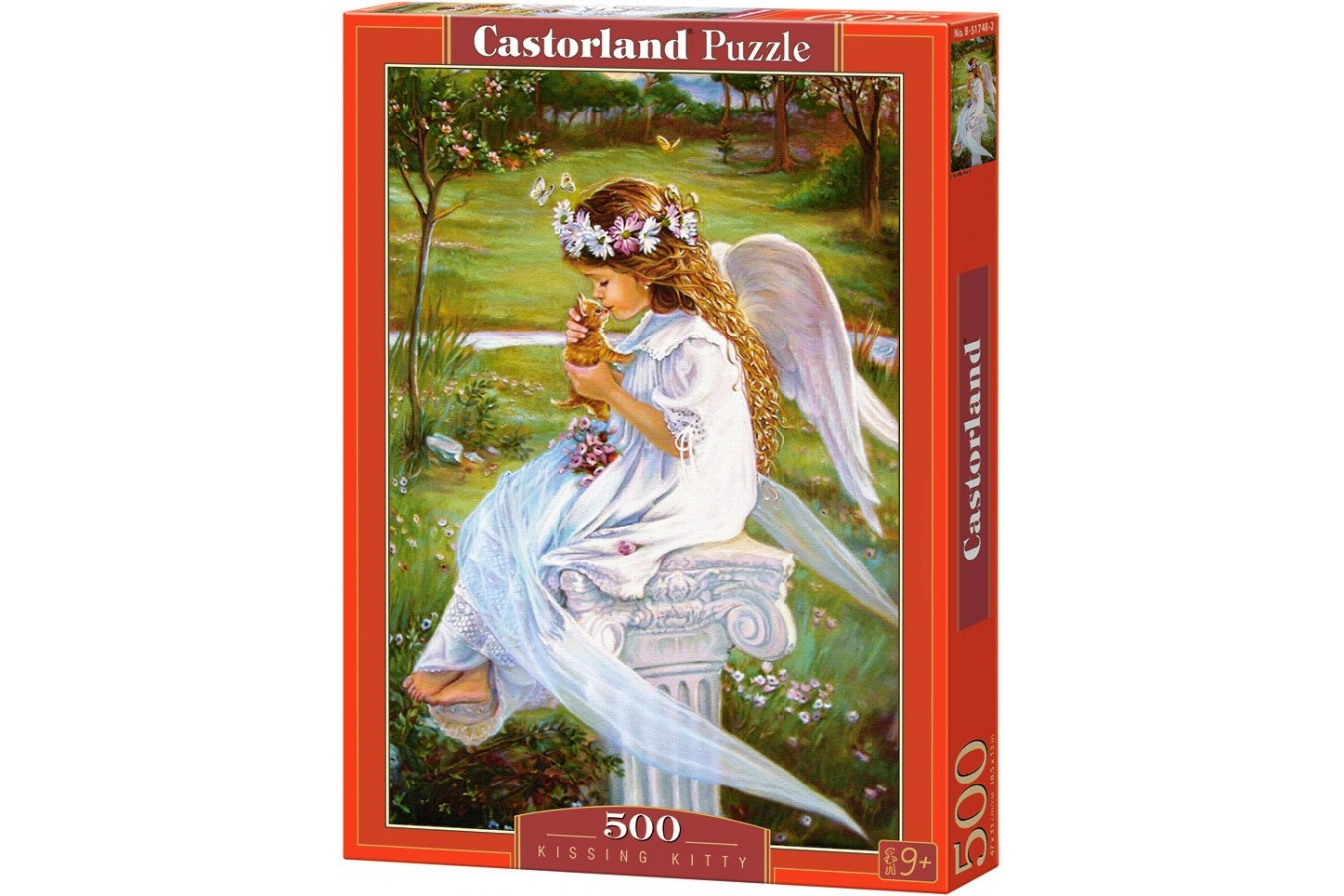 Puzzle Castorland - Kissing Kitty, 500 piese