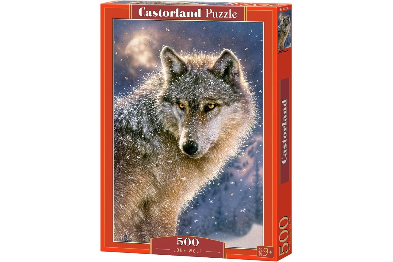 Puzzle Castorland - Lone Wolf, 500 piese