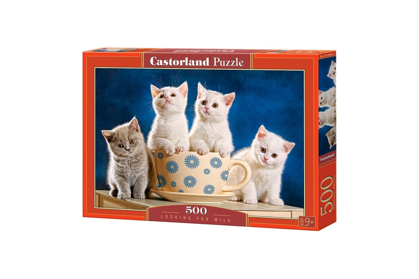 Puzzle Castorland - Looking for Milk, 500 piese