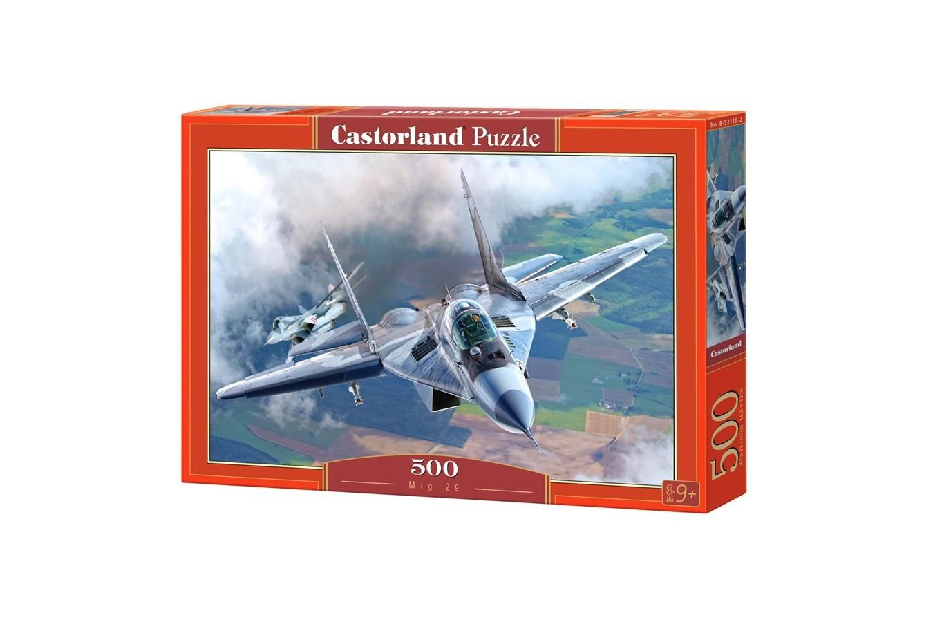 Puzzle Castorland - Mig 29, 500 piese