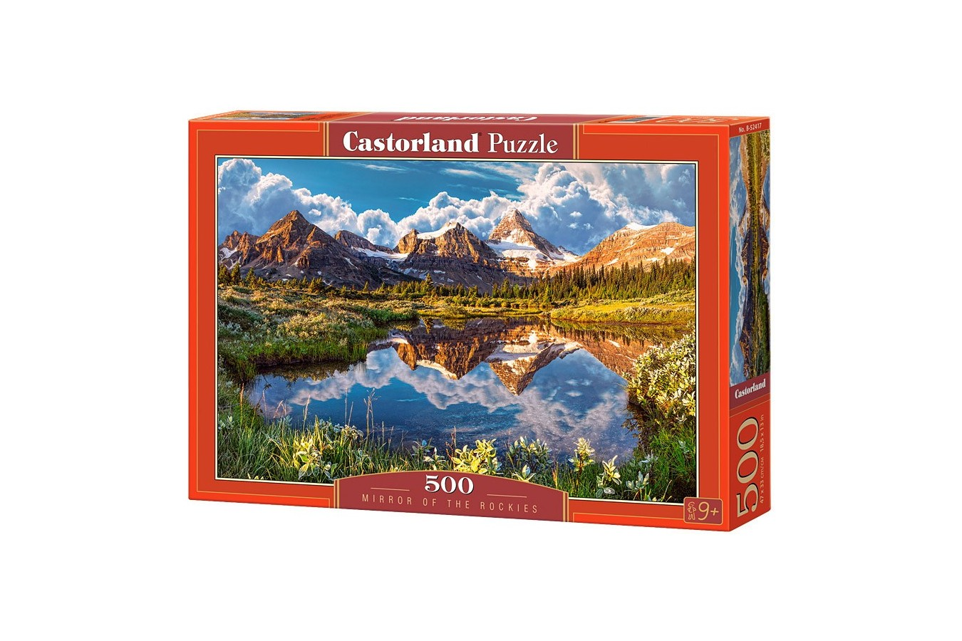 Puzzle Castorland - Mirror of the Rockies, 500 piese
