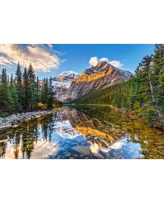 Puzzle Castorland - Morning Sunlight in the Rockies, 500 piese