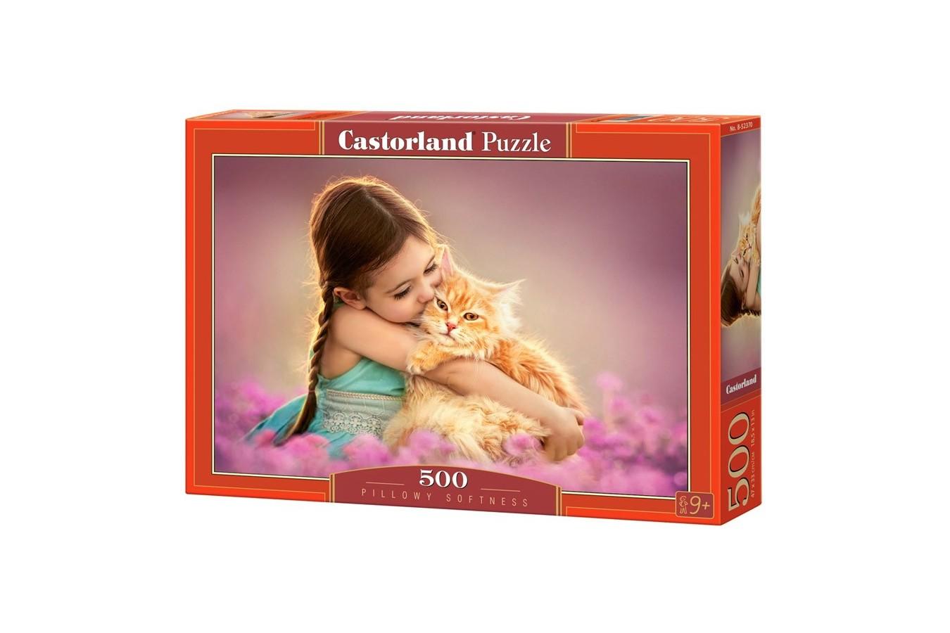 Puzzle Castorland - Pillowy Softness, 500 piese