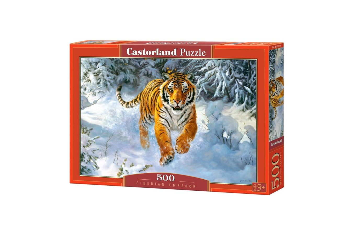Puzzle Castorland - Siberian Emperor, 500 piese