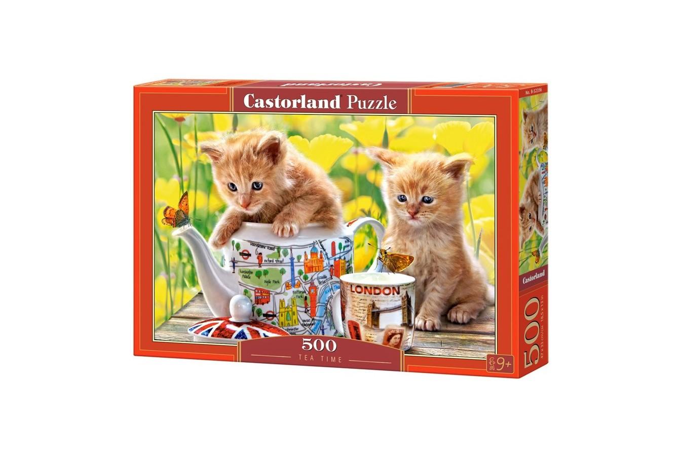 Puzzle Castorland - Tea Time, 500 piese
