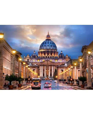 Puzzle Castorland - The Basilica of Saint Peter, 500 piese