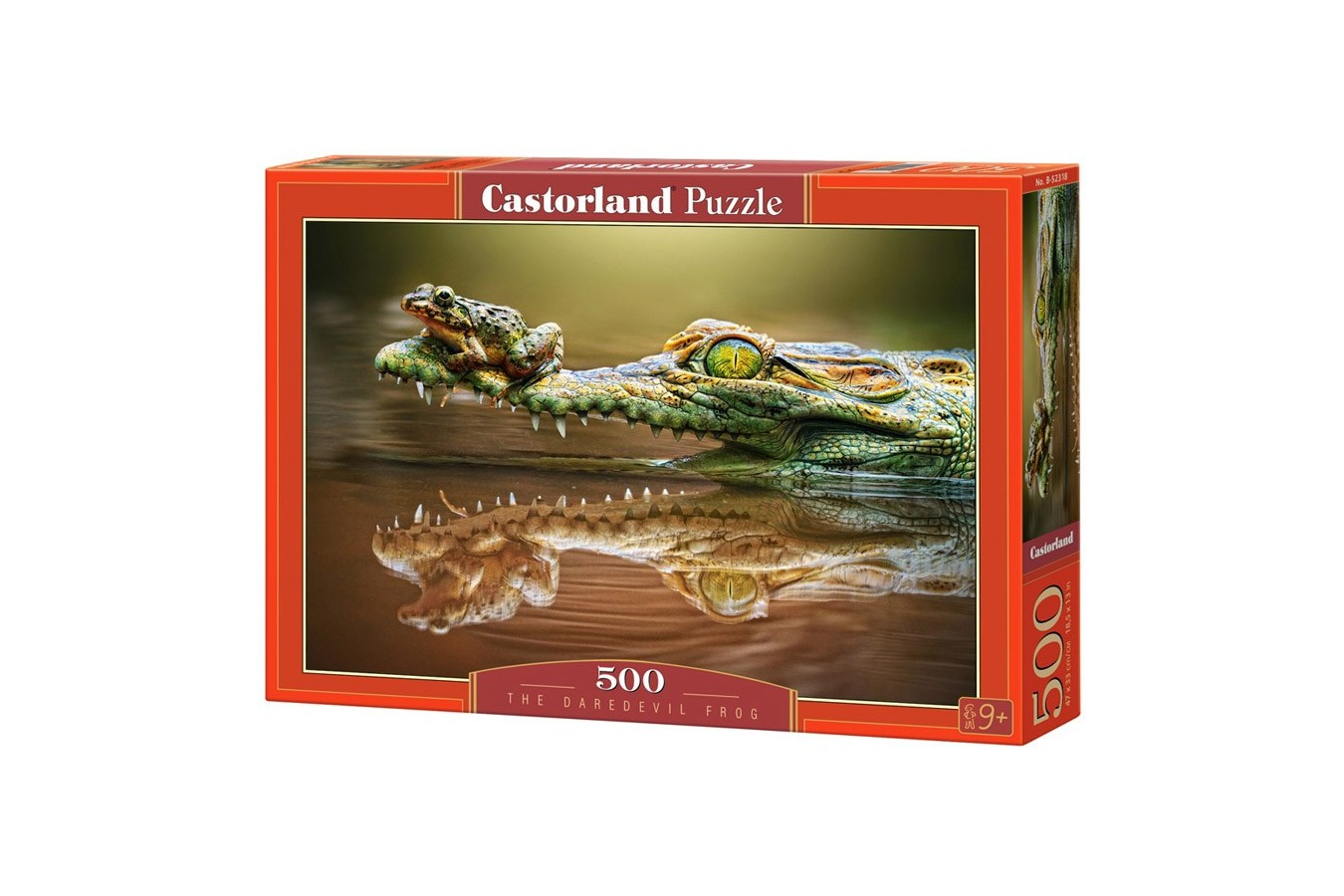 Puzzle Castorland - The Daredevil Frog, 500 piese