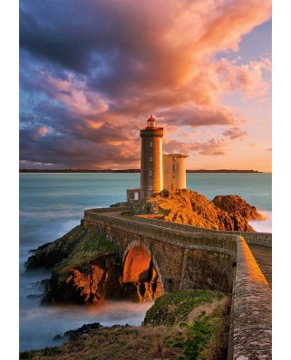 Puzzle Castorland - The Lighthouse Petit, 500 piese