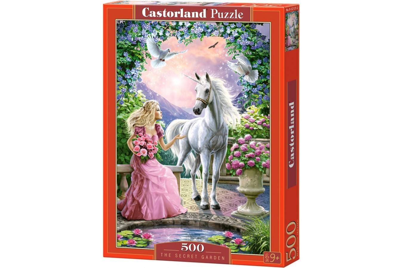 Puzzle Castorland - The Secret Garden, 500 piese