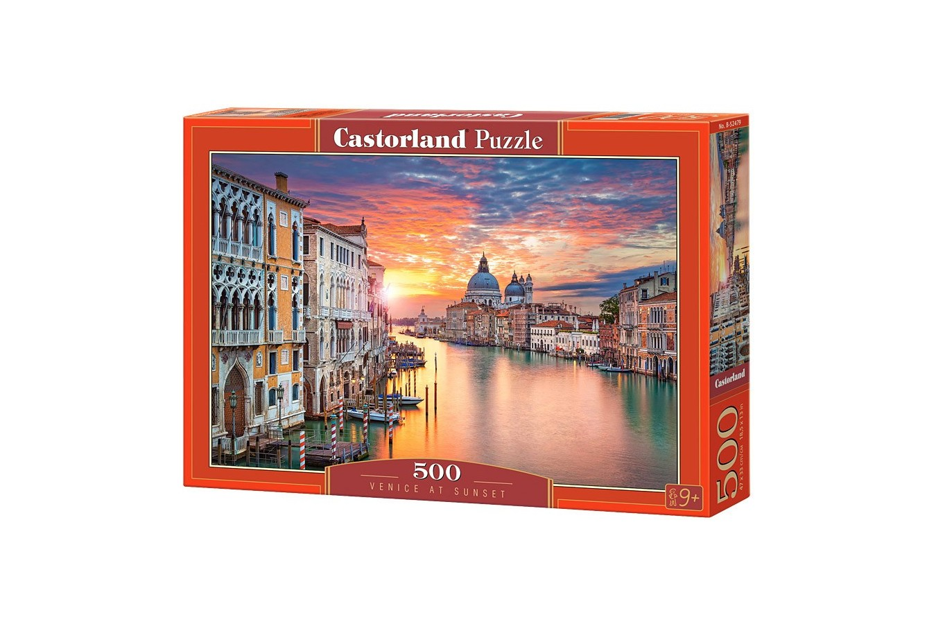 Puzzle Castorland - Venice at Sunset, 500 piese