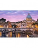 Puzzle Castorland - View of the Vatican, 500 piese
