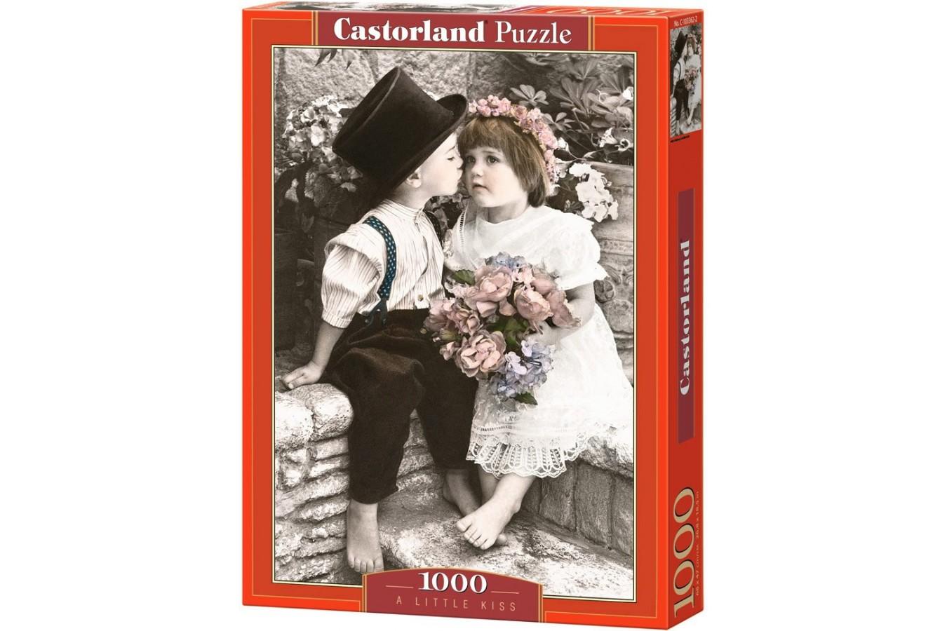 Puzzle Castorland - A Little Kids, 1000 piese