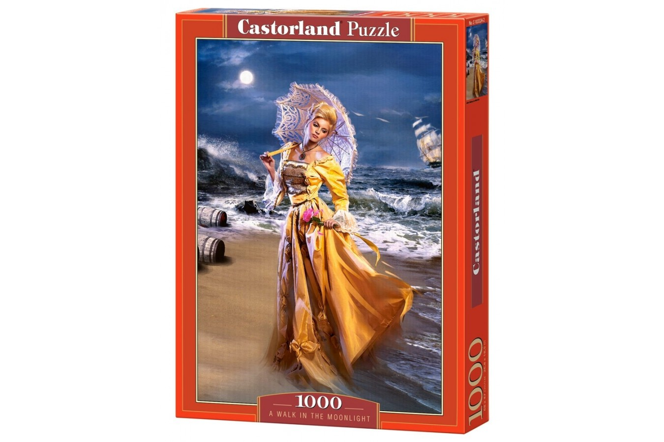 Puzzle Castorland - A Walk in the Moonlight, 1000 piese