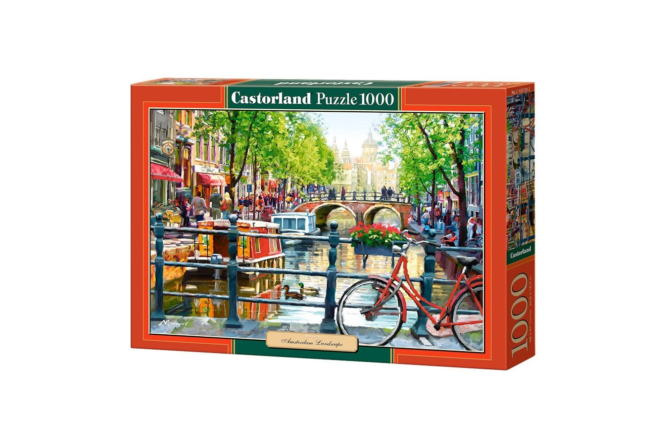 Puzzle Castorland - Amsterdam Landscape, 1000 piese