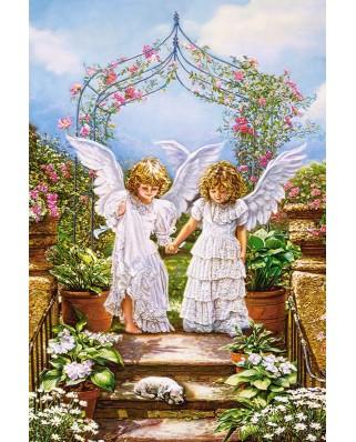 Puzzle Castorland - Angelic Friends, 1000 piese