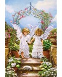 Puzzle Castorland - Angelic Friends, 1000 piese