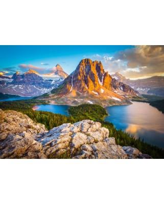 Puzzle Castorland - Assiniboine Vista Canada, 1000 piese