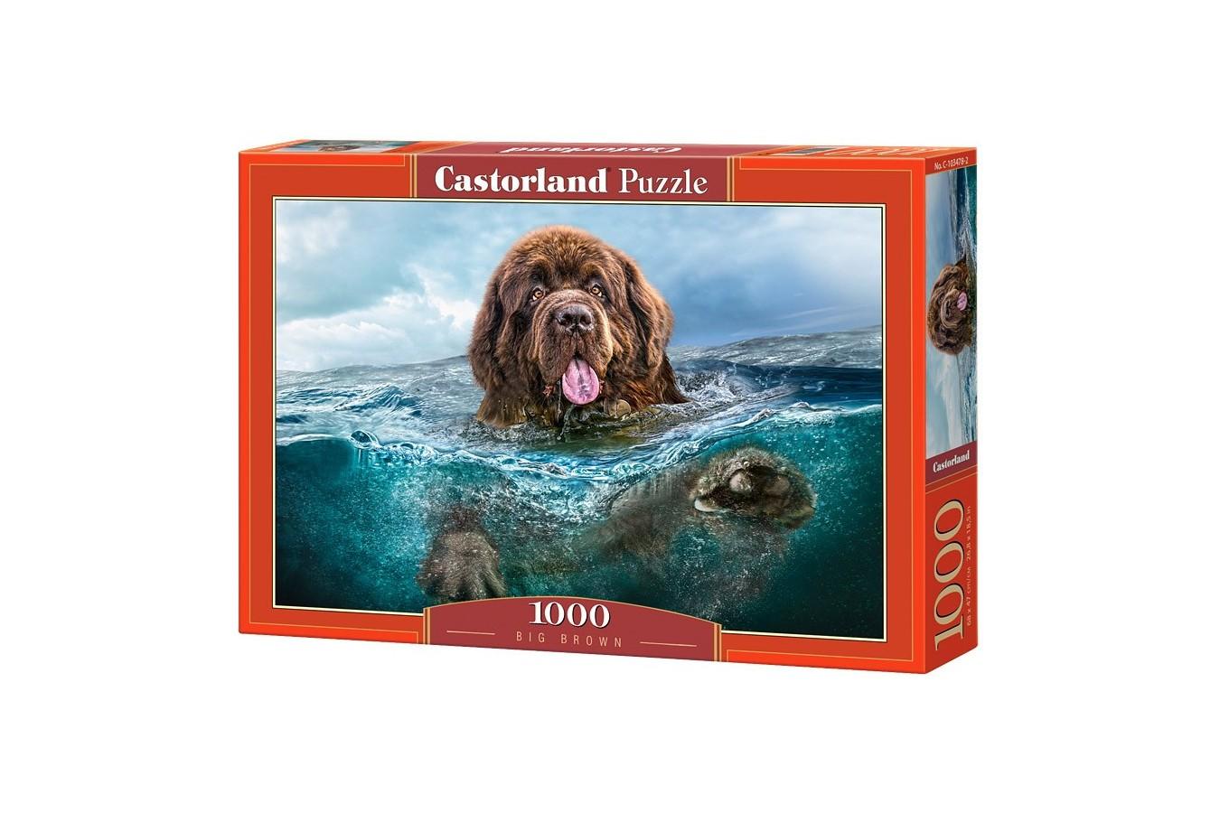 Puzzle Castorland - Big Brown, 1000 piese