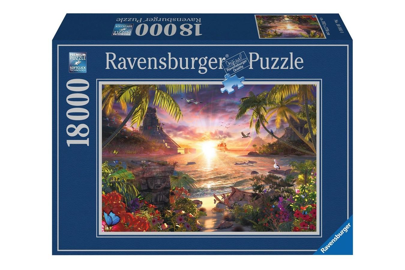 Puzzle Ravensburger - Apusul In Paradis, 18.000 piese (17824)