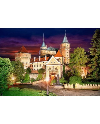 Puzzle Castorland - Bojince Castle at Night, 1000 piese