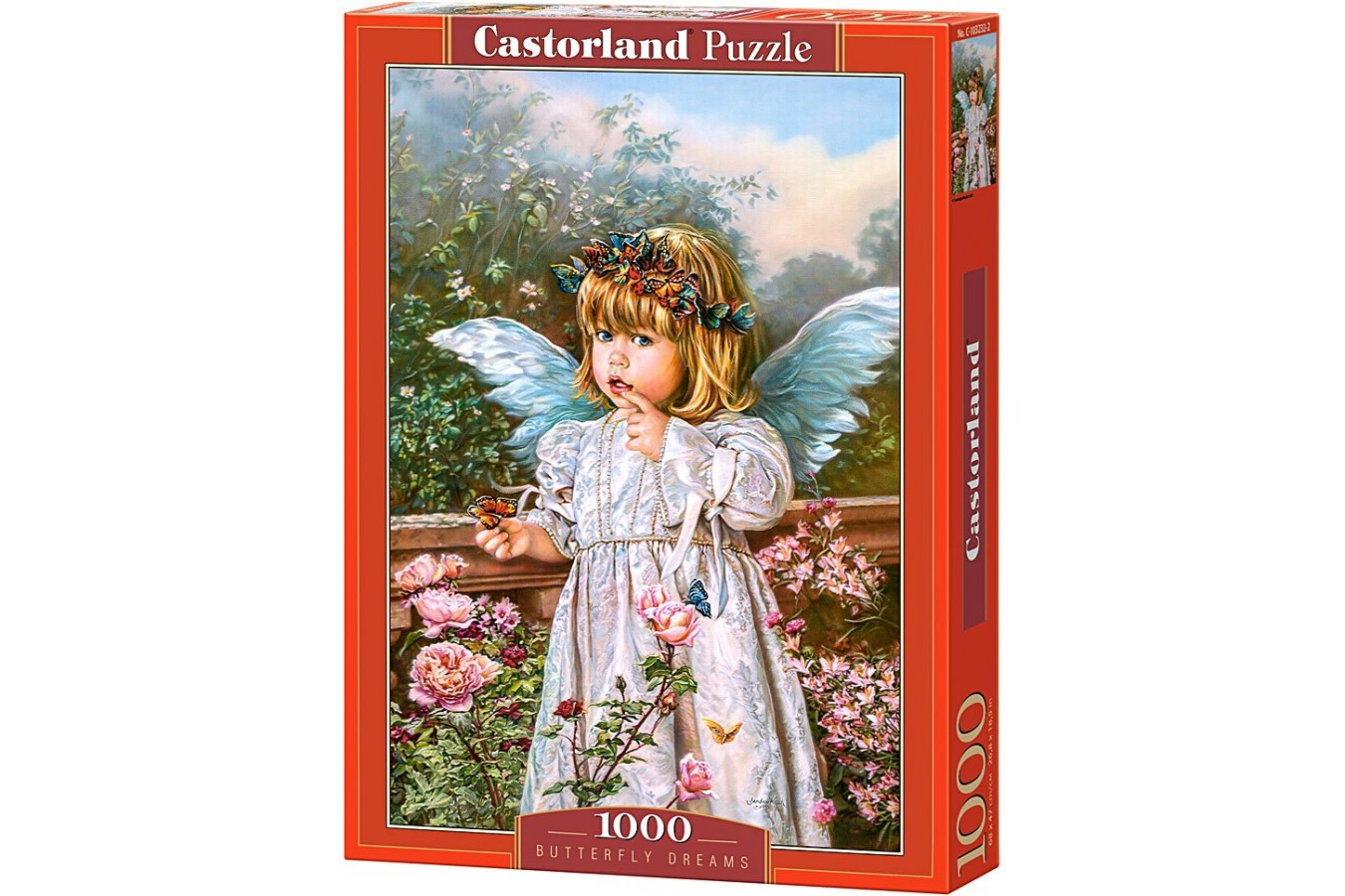 Puzzle Castorland - Butterfly Dreams, 1000 piese
