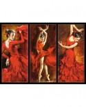 Puzzle Castorland - Crimson Dancers, 1000 piese
