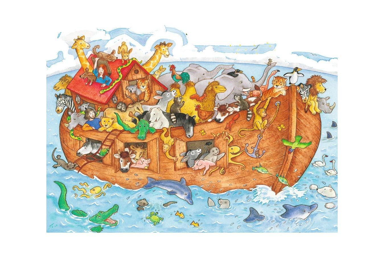 Puzzle Ravensburger - Arca Lui Noe, 48 piese (06604)