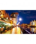 Puzzle Castorland - Gdansk Waterfront At Night, 1000 piese