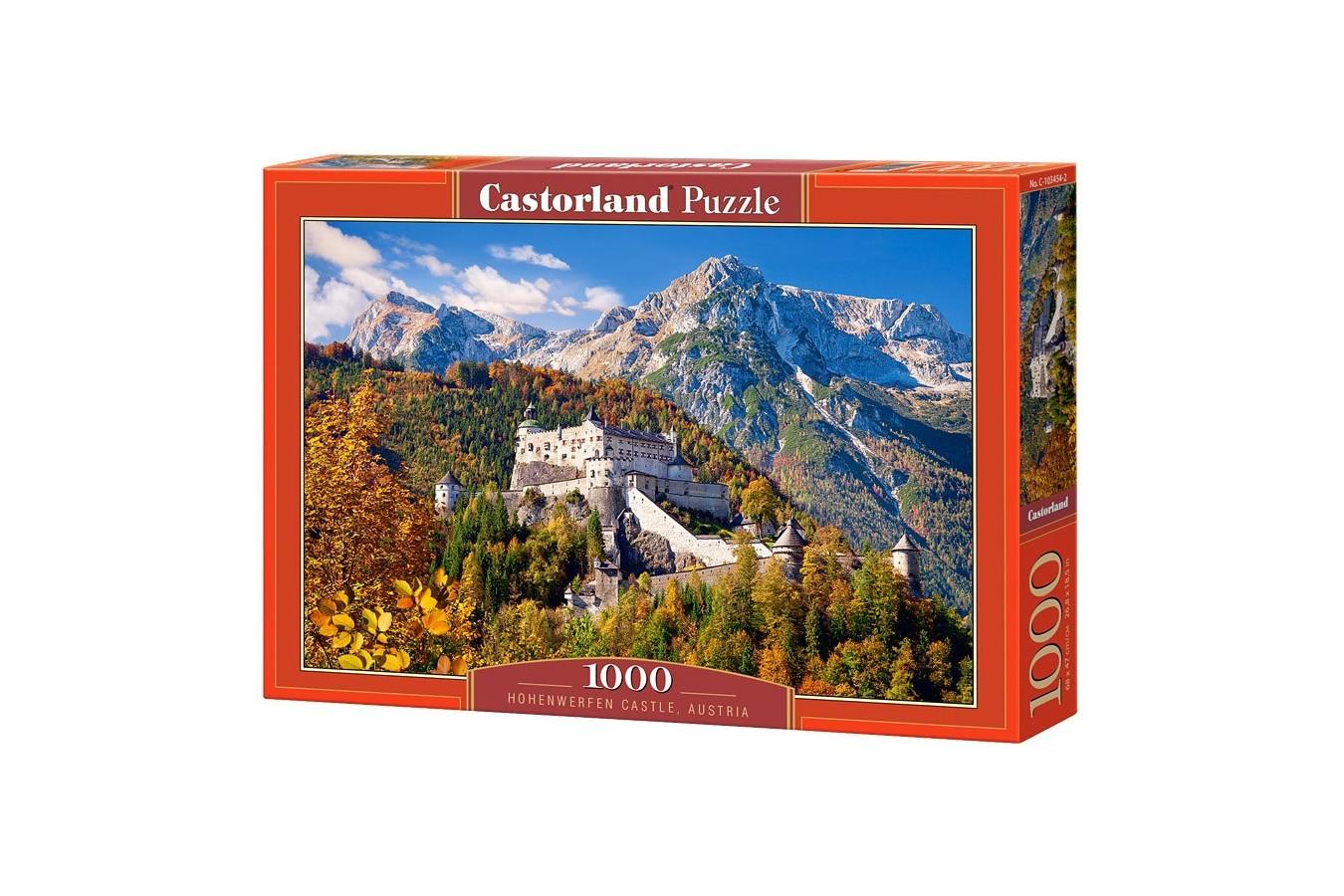 Puzzle Castorland - Hohenwerfen Castle, 1000 piese
