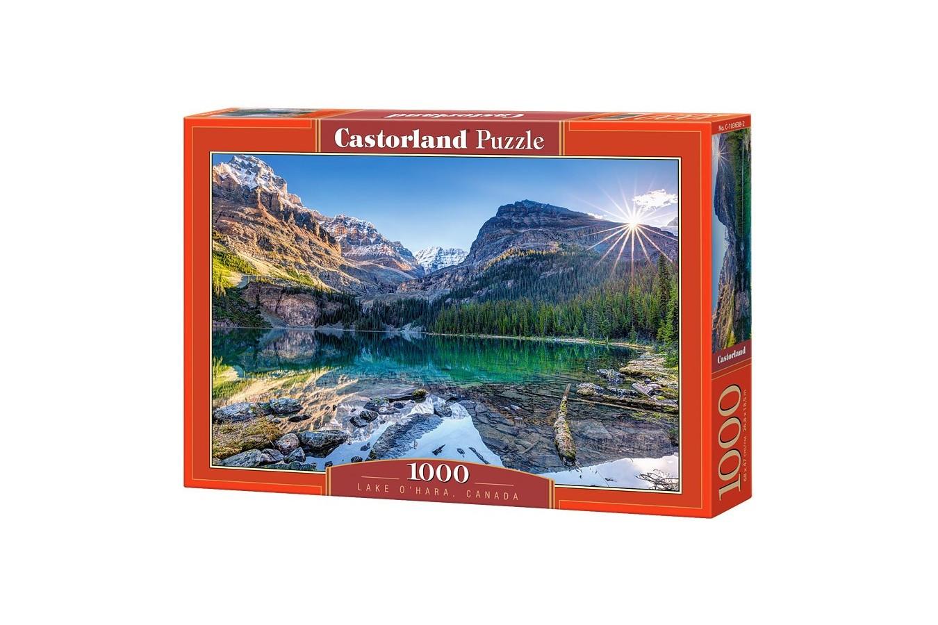 Puzzle Castorland - Lake Ohara Canada, 1000 piese