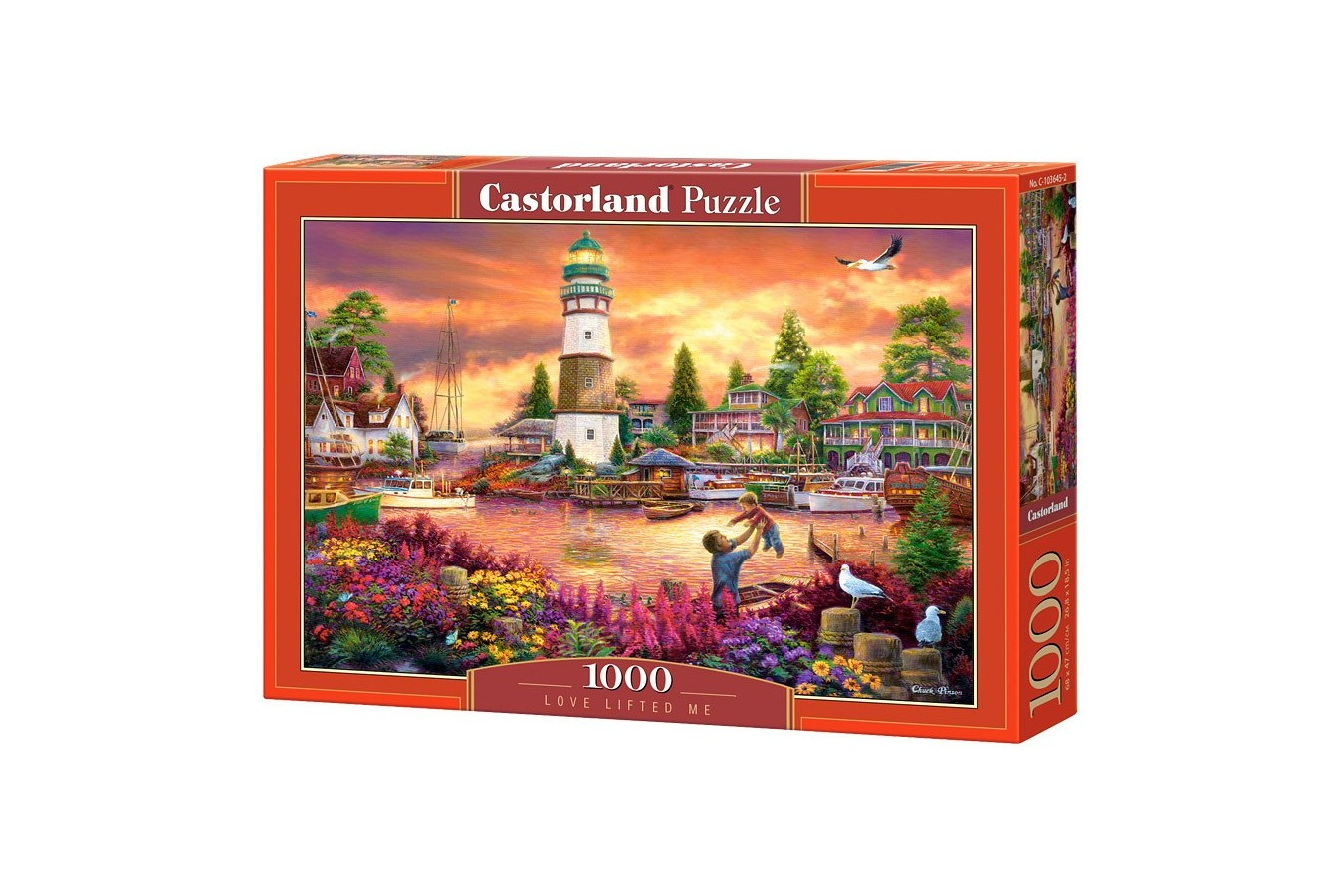 Puzzle Castorland - Love Lifted Me, 1000 piese