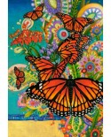 Puzzle Castorland - Monarch Madness, 1000 piese