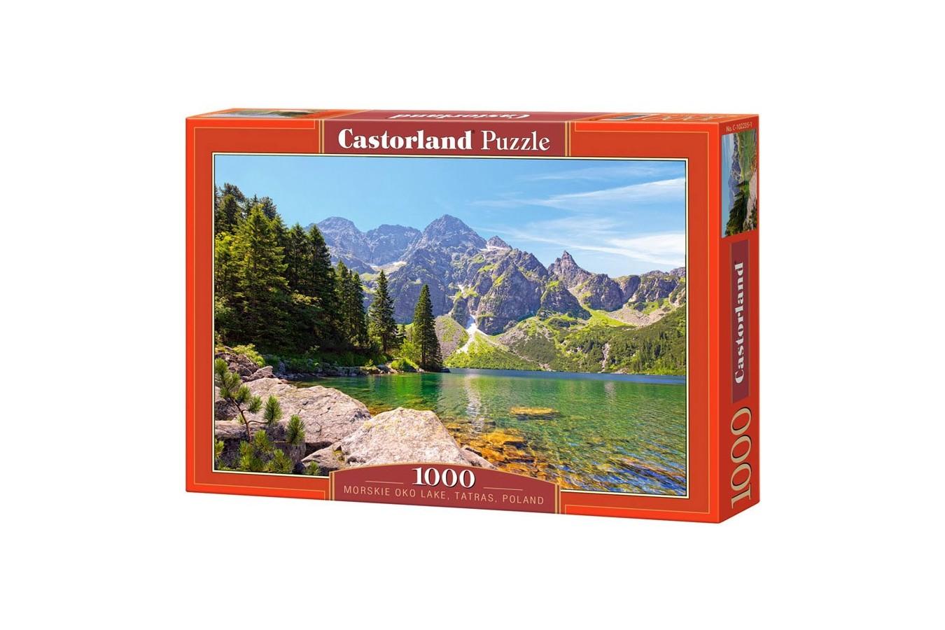 Puzzle Castorland - Morskie Oko Lake Tatras Poland, 1000 piese