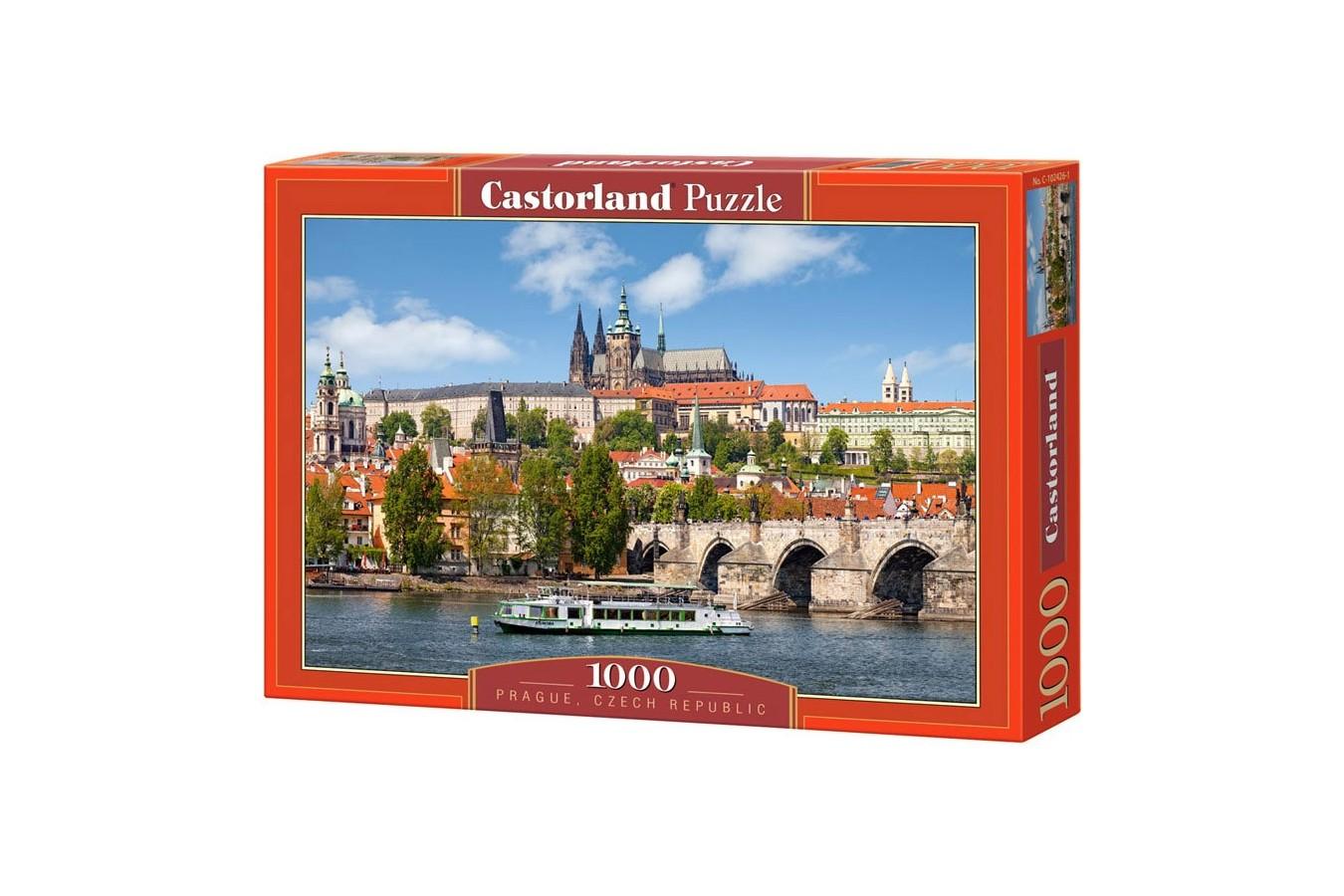 Puzzle Castorland - Prague, Czech Republic, 1000 piese