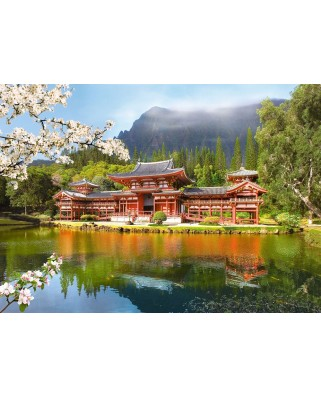 Puzzle Castorland - Replica of the Old Byodoin Temple, 1000 piese