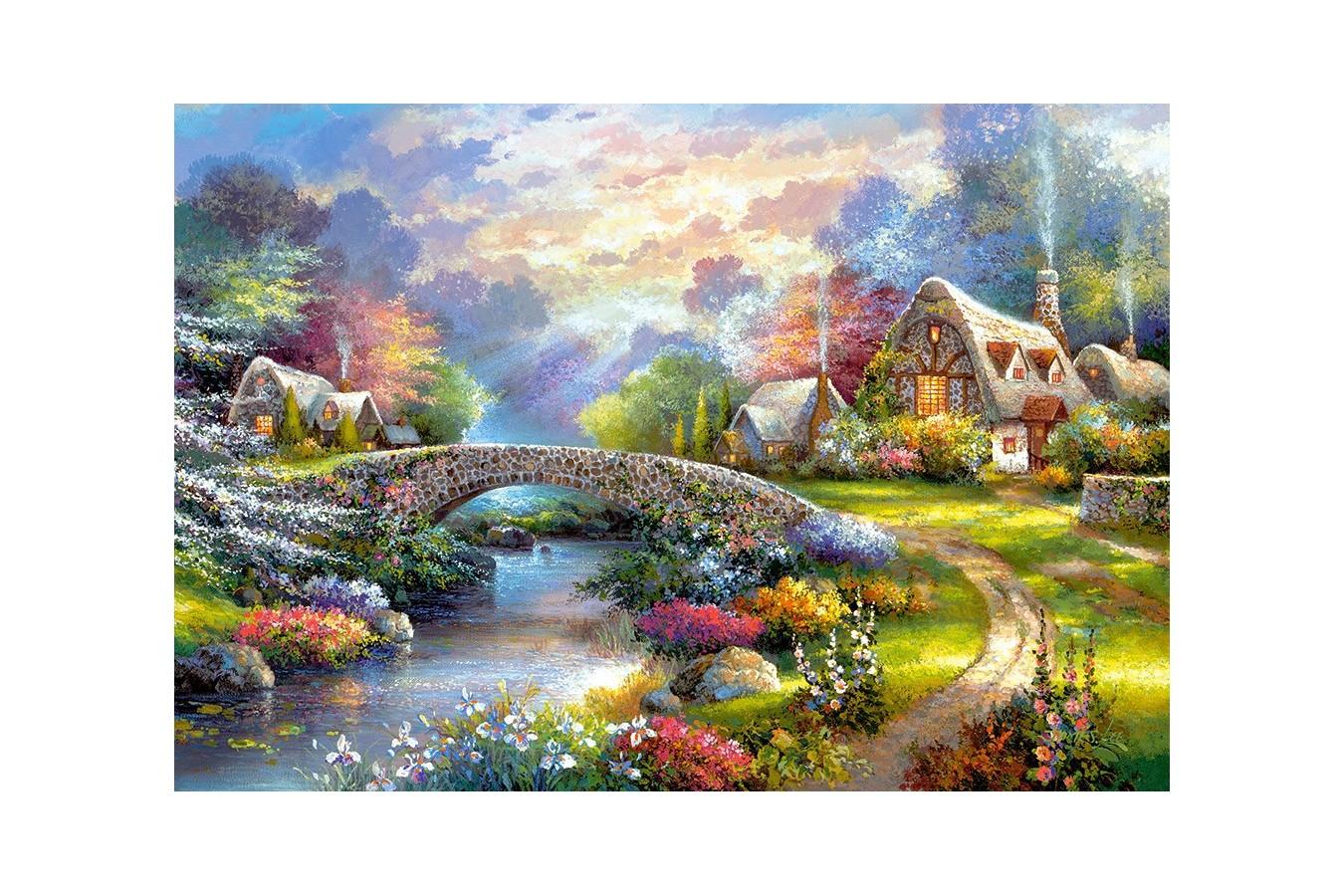 Puzzle Castorland - Springtime Glory, 1000 piese